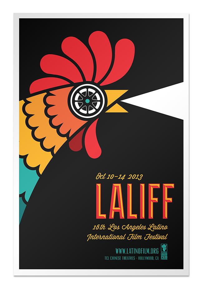LALIFF 2013 Poster Edoardo Chavarin
